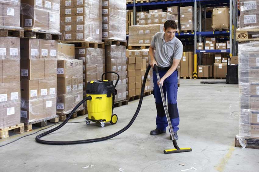 Обеспыливание цехов и складских помещений